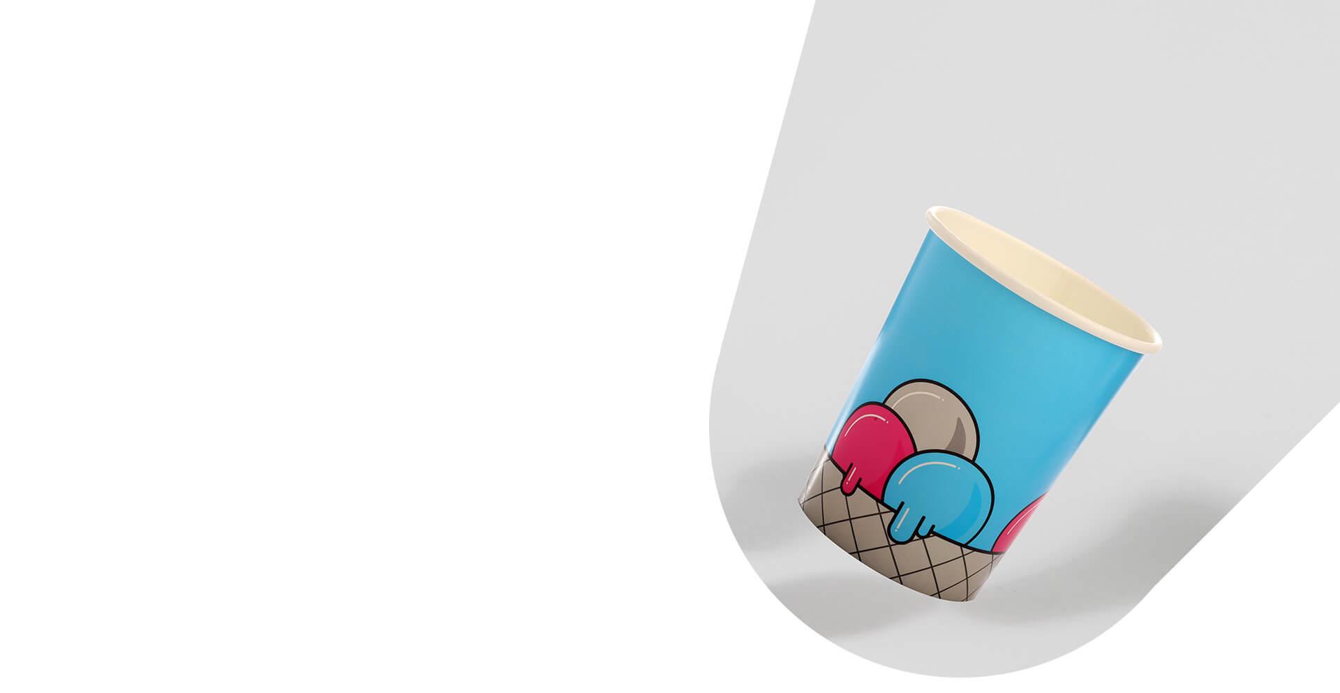 65 Ice Cream Tubs