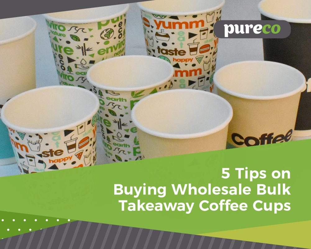 5 Tips on buying Wholesale Bulk Takeaway Coffee Cups