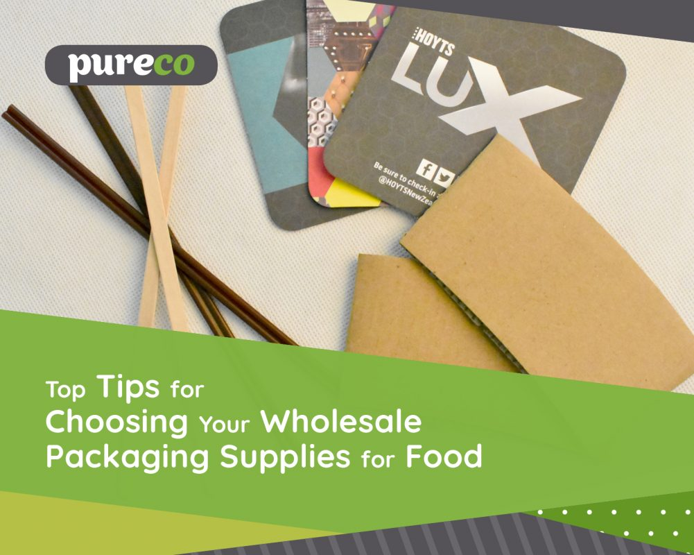 Top Tips for Choosing Your Wholesale Packaging Supplies for Food