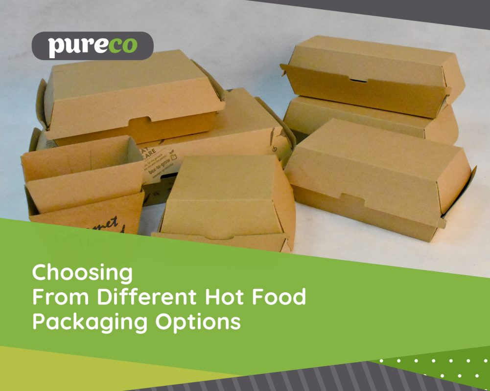 Choosing from Different Hot Food Packaging Options