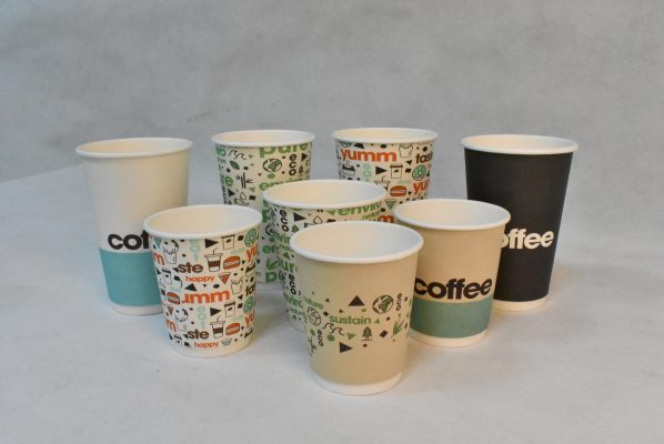 DSC 0315 598x400 High Quality Custom Logo Printed Disposable Paper Coffee Cups