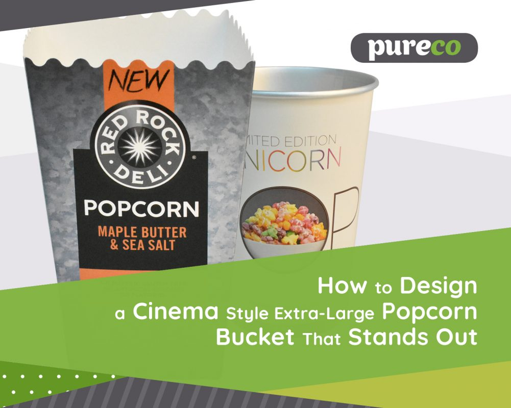 How to Design a Cinema Style Extra-Large Popcorn Bucket That Stands Out