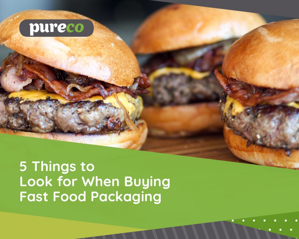 5 Things to Look for When Buying Fast Food Packaging