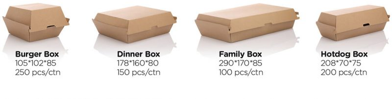 dinner boxes e1534669258935 800x202 5 Things to Look for When Buying Fast Food Packaging
